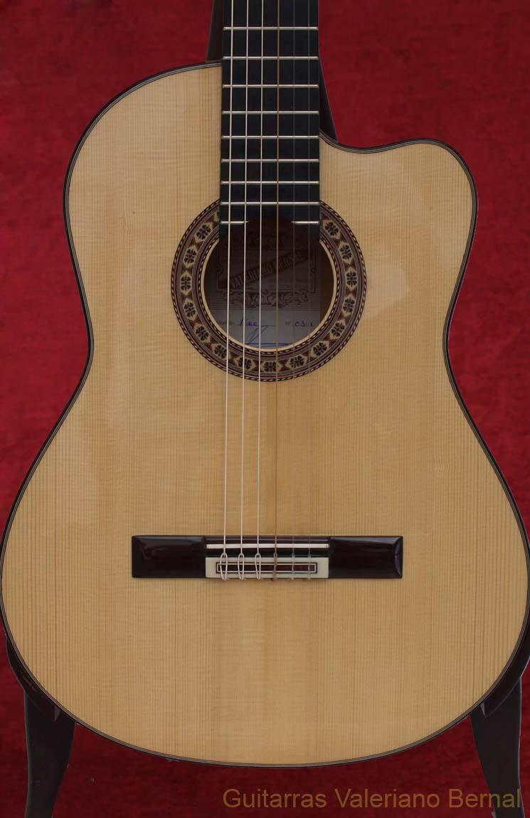 guitarra flamenca modelo aire