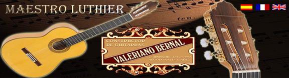 Valeriano Bernal Luthier de Guitarras